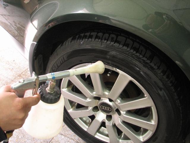 Чем отмыть диски колес